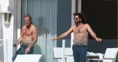 Mel Gibson shirtless in Cannes