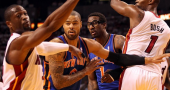 Tyson Chandler admits he was sick during the Playoffs