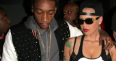 Wiz Khalifa and Amber Rose in false cheating scandal