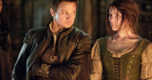 Gemma Arterton and Jeremy Renner preparing for Hansel and Gretel 2