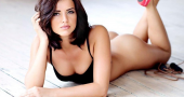 Lucy Mecklenburgh's body is the result of hard work
