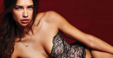 Adriana Lima teases Victoria Secret UK show with risque lingerie pics