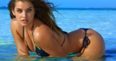 Barbara Palvin is a model who loves working out